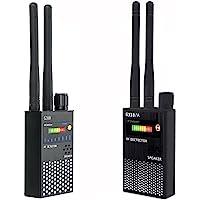 VCXN 反间谍射频信号无线漏洞隐藏摄像头,探测器,GSM 监听,GPS 跟踪查找(G318 黑色)