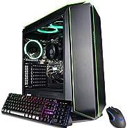 CUK Mantis 定制游戏电脑(AMD Ryzen 3 3200G,16GB DDR4 RAM,512GB NVMe SSD,500W PSU,无操作系统)适合玩家的全新塔式台式电脑