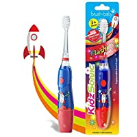 KidzSonic 电动牙刷,适合 3 岁以上儿童 火箭