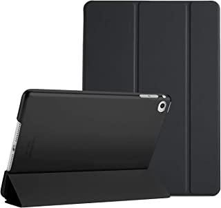 """procase ipad mini 4保护套–超薄轻巧立式保护套带半透明磨砂背面 SMART COVER 适用于2015款 Apple iPad mini 4*4代 IPAD MINI mini4) 黑色 iPad mini 4 7.9"""""""