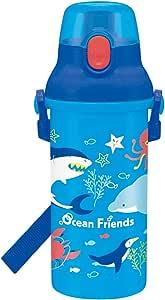 Skater 斯凯达 儿童水杯 480 毫升 Ocean Friends 日本制造 PSB5SAN