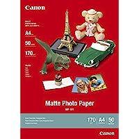 Canon 佳能 无光泽照片纸 MP-101 A4(50)