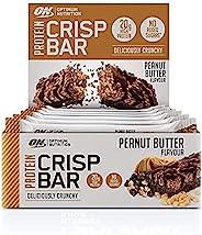 Optimum Nutrition 欧普特蒙 蛋白质清脆棒 分离乳清蛋白 低碳水化合物高蛋白零食 不含糖、花生酱,10条x 65克