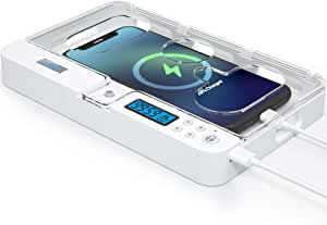 ySky 便携式手机定时器锁盒适用于 iPhone 系列和 Android 手机,自控定时器储物柜,帮助儿童、学生、成人专注,防止过多的游戏、手机上瘾。