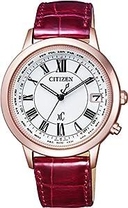 Citizen 西铁城腕表 XC XC 光动能电波手表 ティタニアライン ハッピーフライトシリーズ CB1104–05A 女款