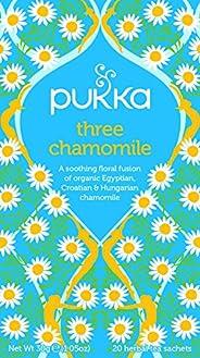 Pukka 三种洋甘菊本茶,20袋*4盒(共80袋)
