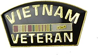 Treasure Gurus 搪瓷越南战争退伍军人丝带夹克翻领别针帽子袋美国军事*礼物