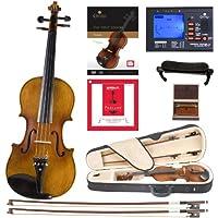 Cecilio CVN-500 实木乌木合身小提琴带 D'Addario Prelude 琴弦DA_1/4CVN-500+SR+92D+FB1 1/4-size