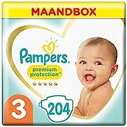 Pampers 幫寶適 Premium Protection 尿布 Windel Gr. 3 204
