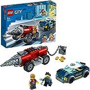LEGO 乐高 城市组 精英警察追击钻头车 60273