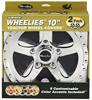 Good Vibrations 180 Good Vibrations Wheelies 拖拉机车轮套 银色 12523213