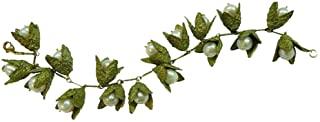 """Michael Michaud 的""""Beech Nut""""珍珠手链银色季节……"""