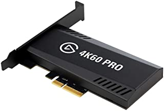 Elgato 游戏捕获 4K60 Pro MK.2-4K60 HDR10 捕获和传递,PCIe 捕获卡,卓越的低延迟技术