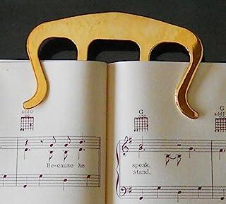 金发夹 - 音乐书标记和页架