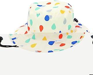 World Party(Wpc.)儿童帽子雨具儿童MWKHM-038水滴白色