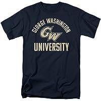 乔治华盛顿大学官方单色 Gw 标志中性款成人 T 恤