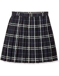 [ 排球少年流行 ] 里料 · 带调节扣格子图案百褶短裙 (学校制服) TB - 290女款