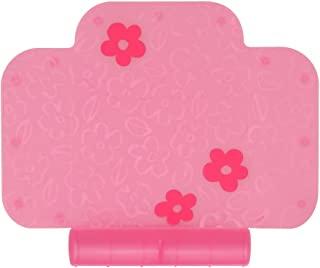 茶壶 餐垫 智能餐具 泡泡 象嵌工艺很可爱且放心的硅制 附带食物溢出口袋 樱桃(粉色)