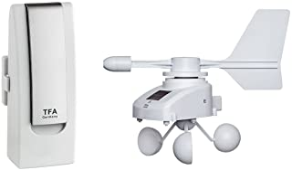 Blooming Weather 31.4006.02 WEATHER HUB Pro Plus 初学者套装 带风速计 适用于智能手机 - 白色