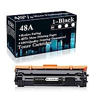 1 包 48A | CF248A 黑色兼容硒鼓替換件適用于 HP Laserjet Pro M15a M15w MFP M28a MFP M28w MFP M29w MFP M30w MFP M31w 打印機,由 TopInk 出售
