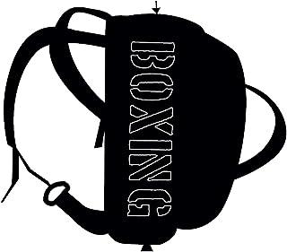 金属拳击 A 字背肩带或经典包带手柄和肩带中性成人,黑色,制造商尺码:均码