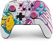 PowerA 增强版无线控制手柄 适用于Nintendo Switch 和 Nintendo Switch Lite- 口袋妖怪决斗