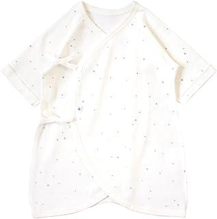 10mois 婴儿连体内衣 棉质 50~60厘米 白色 棉质