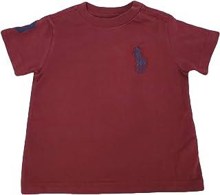 Polo Ralph Lauren 保罗拉夫劳伦男童大马棉运动 T 恤,Hammond 蓝色