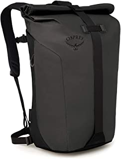 Osprey Packs Transporter Roll Top 笔记本电脑背包,黑色