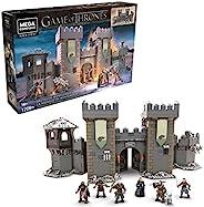Mega Construx GMN75 - 权力的游戏 冬季角落之战,包括 6 个忠于原型的微型动作人偶,12 个动作点,16 岁以上的玩具