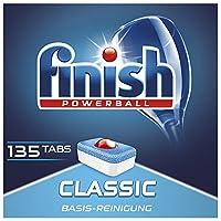 Finish Classic 洗碗机用洗涤块 经济装,一包(1 x 135片)