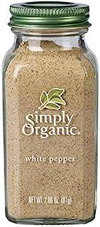 Simply Organic-白胡椒-2.86 盎司。