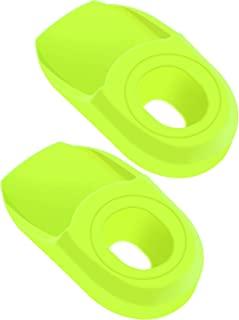 KRSEC 自行车曲柄靴保护器橡胶抗摩擦,适用于山地,MTB,RoadBike-1 对