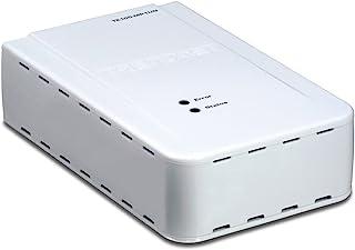 TRENDnet 1 端口多功能打印服务器 TE100-MP1UN(白色)