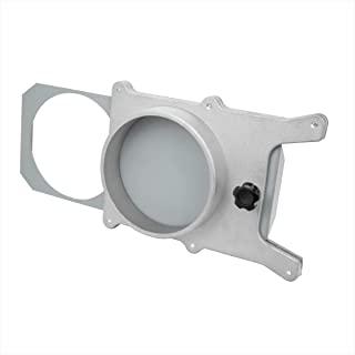 POWERTEC 70135 4 英寸(约 10.2 厘米)铝制排气门,适用于集尘器/真空配件