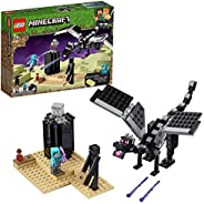 LEGO 乐高 Minecraft我的世界 决战末影龙 最后的战役 21151 积木玩具 男孩