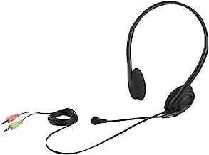 iBUFFALO 双声道颈部带 电脑耳机BSHSH14BK 3.5mmステレオミニプラグ接続