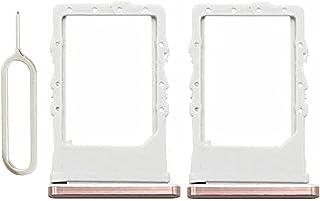 SIM 卡托盘兼容 Galaxy Z Fold 2,2 件装 SIM 卡插槽插槽模块,适用于三星 Galaxy Z 折叠 2 5G 金 + 弹出销