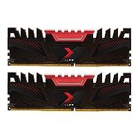 PNY 必恩威 16GB (2x8GB) XLR8 Gaming DDR4 3200MHz 台式机内存套件 - (MD16GK2D4320016AXR)