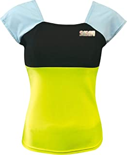 SASAKI 女士 法式上衣 荧光黄×黑色 JL DR7012Q