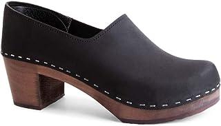 Sandgrens Swedish 女士高跟木底鞋 - Bridget