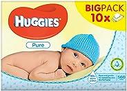 Huggies Pure Moist 婴儿湿巾 10 件装 10 × 56 件