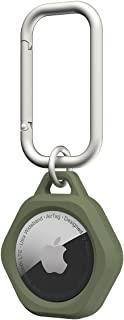 URBAN ARMOR GEAR Apple AirTag用保护套(耐冲击/*/带登山扣) SCOUT 橄榄色 【日本正规代理店商品】 UAG-AITS-OL