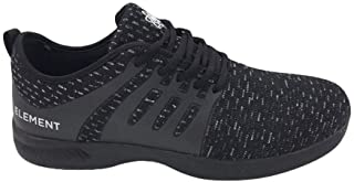Element Hydrolite 男式运动无缝网眼黑色或石头保龄球鞋,带通用鞋底,适合右手或左手保龄球运动员