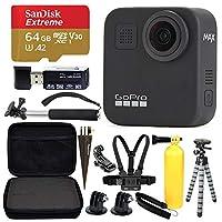 GoPro MAX 360 運動動作相機 + SanDisk Extreme 64GB microSDXC + *超值套裝!