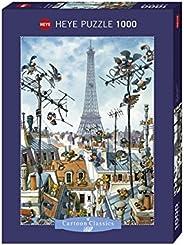 Heye Eiffel Tower 1000 Piece Jean-Jacques Loup Jigsaw Puzzle