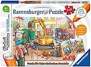 Ravensburger 睿思 tiptoi 00049 - 小探险家拼图:建筑工地 - 2 x 12 片