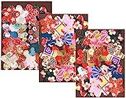 和纸Kawasumi 特选 手染 京友禅 千代纸 贴纸 樱花 60张装