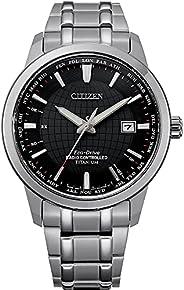 Citizen 西铁城 男式模拟光动能手表钛表带 CB0190-84E