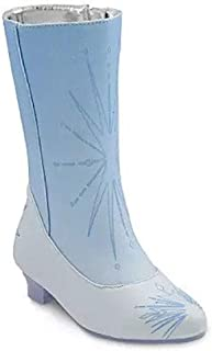 Disney 迪士尼商店 Elsa 儿童服装靴 - 冰雪奇缘 2,蓝色,13/1
